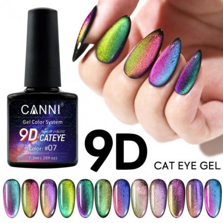 Oja semipermanenta Cat Eye canni