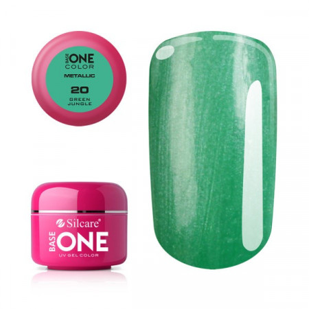 Gel UV Color Base One 5g Metalic Green Jungle 20