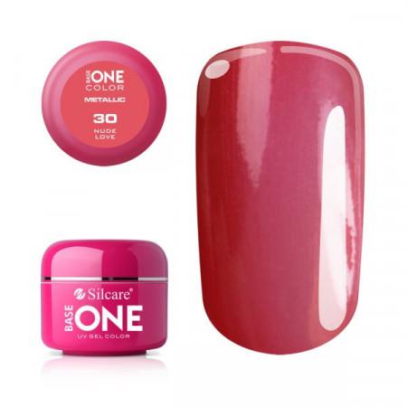 Gel UV Color Base One 5g Metalic Nude Love 30