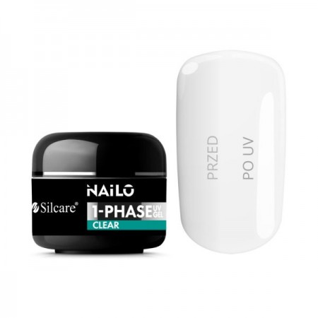 Gel UV de Constructie Nailo Clear 15g Silcare
