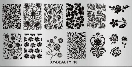 Matrita metalica model XY-Beauty-10