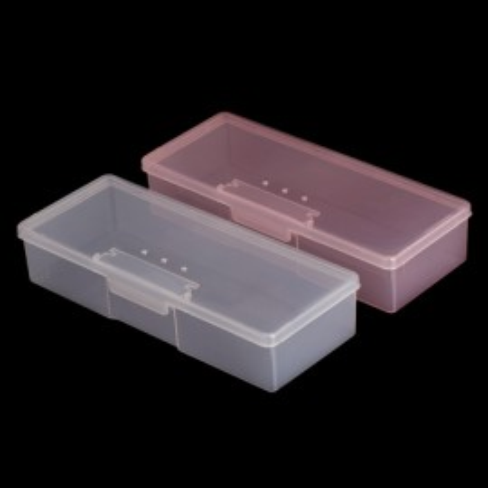 Cutie Plastic Dreptunghiulare pentru Pile-Pensule