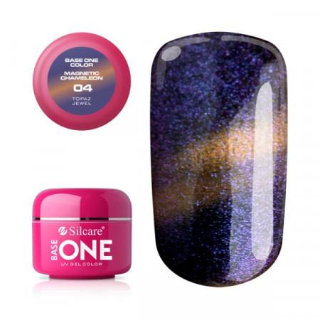 Gel UV Color Base One Silcare Magnetic Chameleon 04
