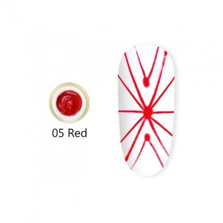 Gel UV Spider-Geometric Canni 5g Red 05