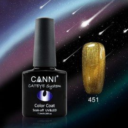 Oja Semipermanenta Cameleon Cat Eyes CANNI 451