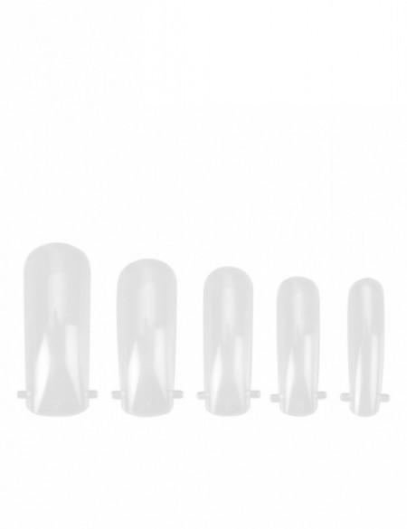 Tipsuri unghii dual form pentru polygel 240 bucati FSM