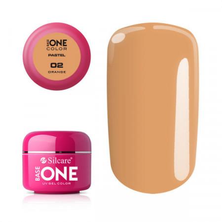 Gel UV Color Base One 5g Pastel 02 Orange