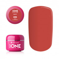 Gel uv Color Base One Silcare Matt Red Mystery 05