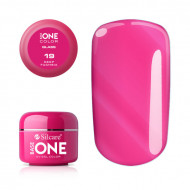 Gel uv Color Base One Silcare Glass Deep Fuchsia 19