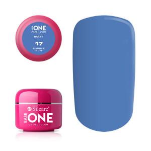 Gel uv Color Base One Silcare Matt Bubble Gum 17