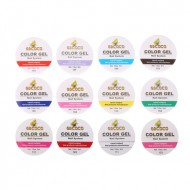 Set 12 geluri UV color GD COCO