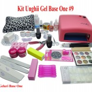 Kit Unghii Gel Base One #9
