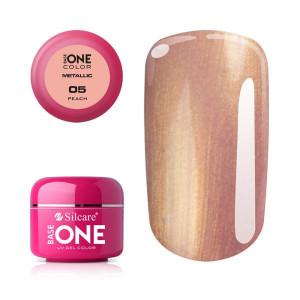 Gel UV Color Base One 5g Metalic Peach 05