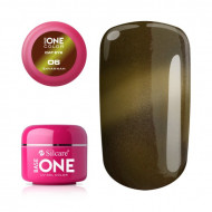 Gel UV Color Base One Silcare Cat Eye Magnetic Sawannah 06