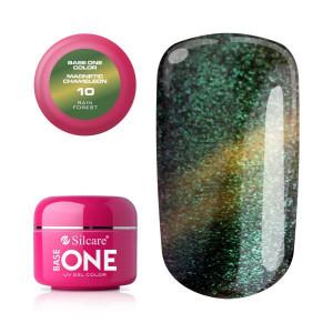 Gel UV Color Base One Silcare Magnetic Chameleon 10
