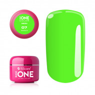 Gel UV Color Base One Silcare Neon Green 07