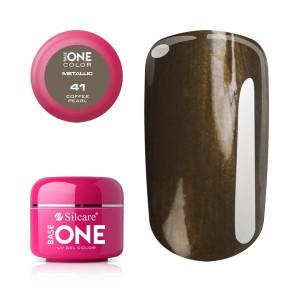 Gel UV Color Base One 5g Metalic Coffee Pearl 41