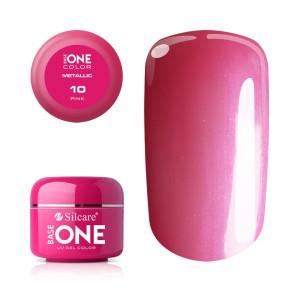Gel UV Color Base One 5g Metalic Pink 10