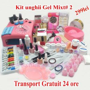 Kit Unghii Mixt.Gel-Oja Semipermanenta #2 Oferta