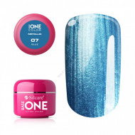 Gel UV Color Base One 5g Metalic Blue 07