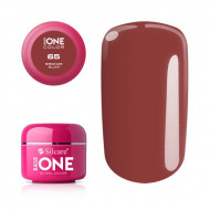 Gel uv Color Base One Silcare Clasic Bronze Glam 65