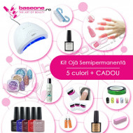 Kit unghii Oja Semipermanenta CANNI #1