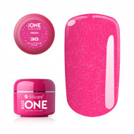 Gel UV Color Base One Silcare Delicious Pink 30