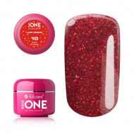 Gel uv Color Base One Silcare Las Vegas Red Plaza 10