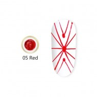 Gel UV Spider-Geometric Canni 5g Red 05