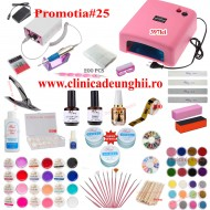 Kit Unghii Gel Promotia #25-397 Transport Gratuit