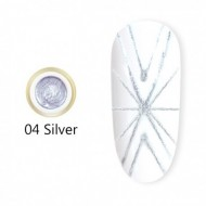 Gel UV Spider-Geometric Canni 5g Silver 04