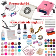 Kit Unghii Gel Promotia #26-499 Transport Gratuit