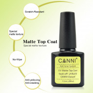 Top Coat CANNI MATT 7.3ml