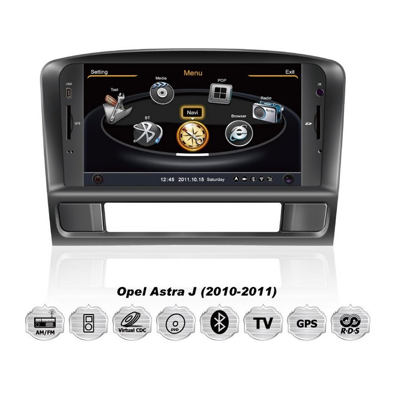 auto r dio cartech opel astra j oem dvd gps navigation system. Black Bedroom Furniture Sets. Home Design Ideas