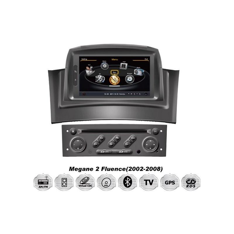 auto r dio cartech android renault megane ii 1 din oem car dvd gps multimedia system. Black Bedroom Furniture Sets. Home Design Ideas