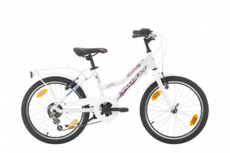 Bicicleta Shockblaze Camilla 20 6v alba 2021