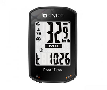 Ciclocomputer bicicleta BRYTON RIDER 15 NEO C GPS (+SCAD)