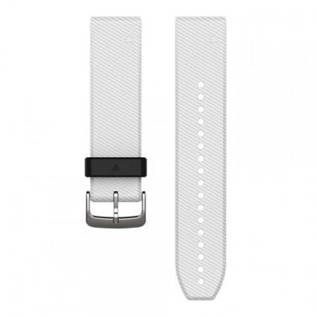 Curea Garmin Quickfit 22 Silicon white