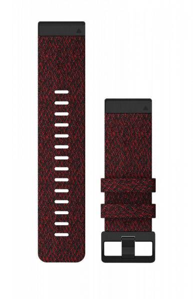 Curea Garmin Quickfit 26 Nailon heathered red