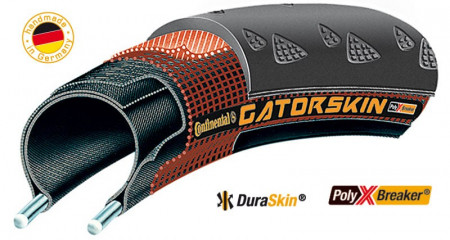 Anvelopa pliabila Continental Gatorskin 32-622 (700x32C) negru
