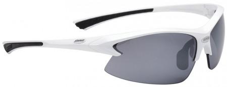 Ochelari sport BBB BSG-38 Impulse albi lentile fumurii