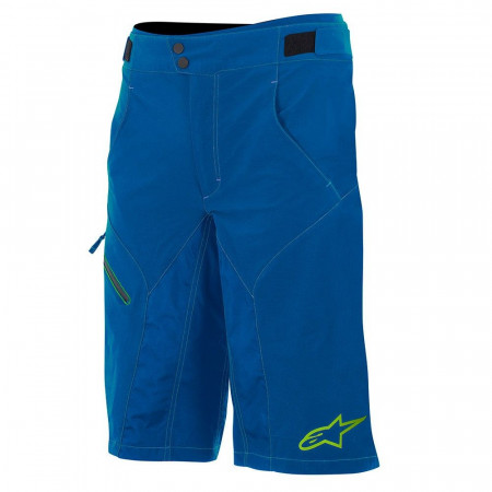 Pantaloni scurti Alpinestars Outrider Water Resistant Base Shorts dark blue/lime 30