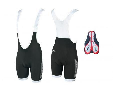Pantaloni scurti cu bazon si bretele Force B40 XS