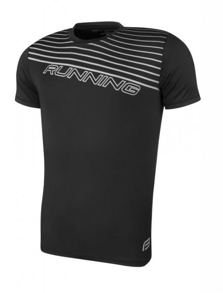 Tricou alergare Force Running negru XXL