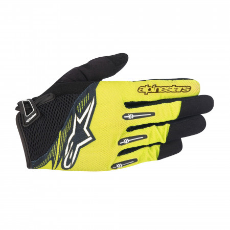 Manusi Alpinestars Flow Glove acid yellow black XXL