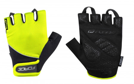 Manusi Force Gel fluo/negru XS
