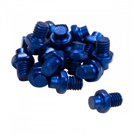 Pini pedale Reverse Escape Pro 16 bucati albastre