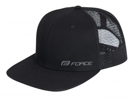 Sapca Force Trucker logo black