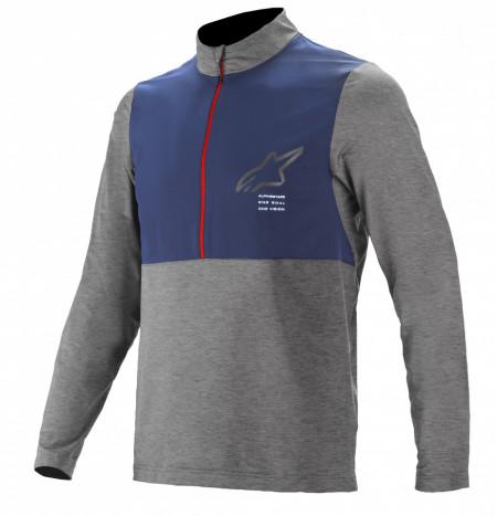 Bluza Alpinestars Nevada LS Jersey Gri/Albastru XL