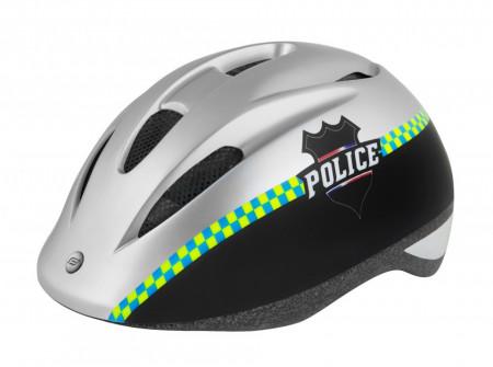 Casca Force Fun Police Negru/Alb S